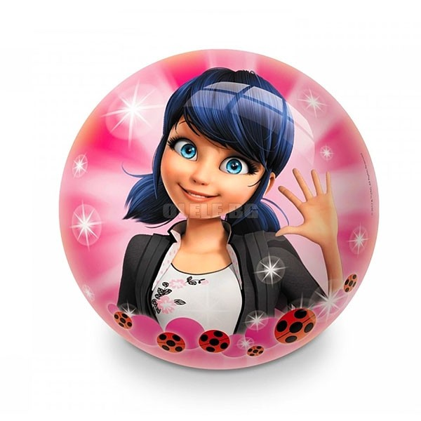 Детска топка Mondo Rubber ball Miraculous Lady Bug