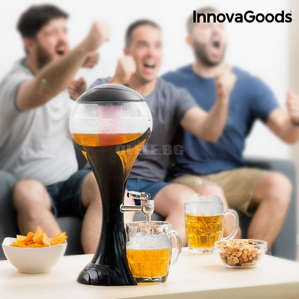 ДИСПЕНСЪР ЗА БИРА С LED WORLD CUP INNOVAGOODS