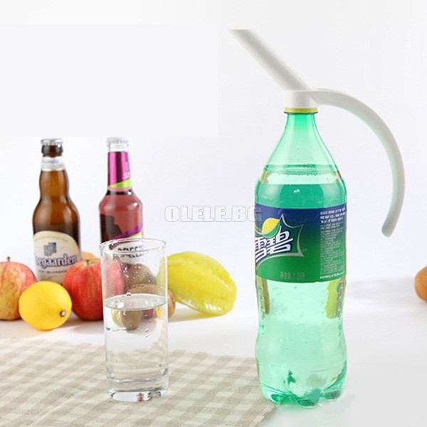 Mâner de prindere comod pentru sticle din plastic Bottled Beverage Handle