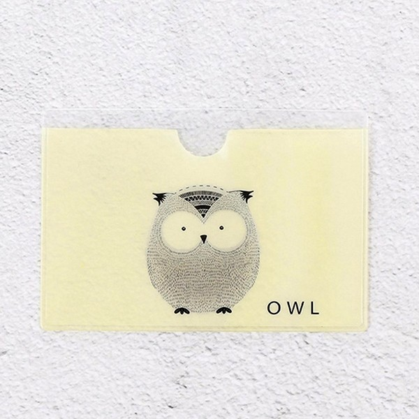 Кейс за карти Owl Printed Card Sleeve