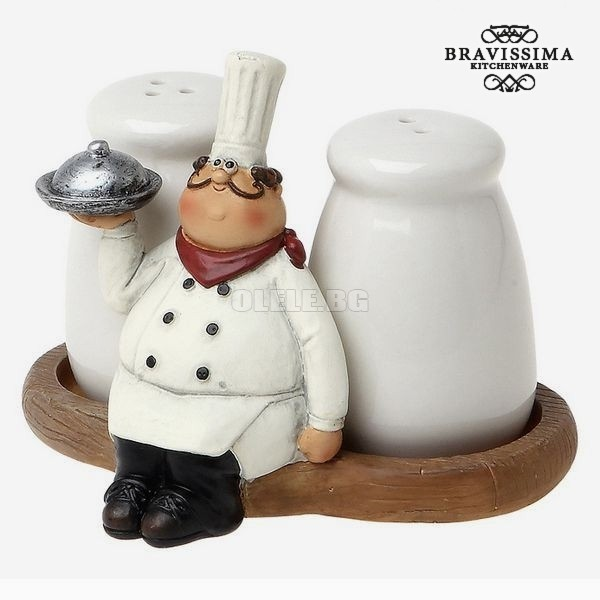 КОМПЛЕКТ СОЛНИЦИ SALT AND PEPPER SET BRAVISSIMA KITCHEN 8861 (2 PCS)