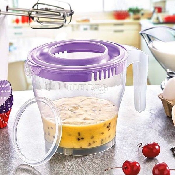 Купа за миксер Mixer Bowl with Lid BPA Free