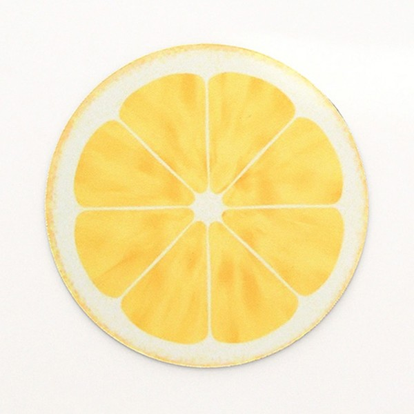 Пад за мишка ЛИМОН Round Lemon Mouse Pad