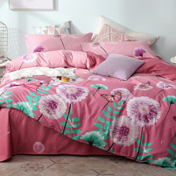 Плик за завивка Flower Print Duvet Cover